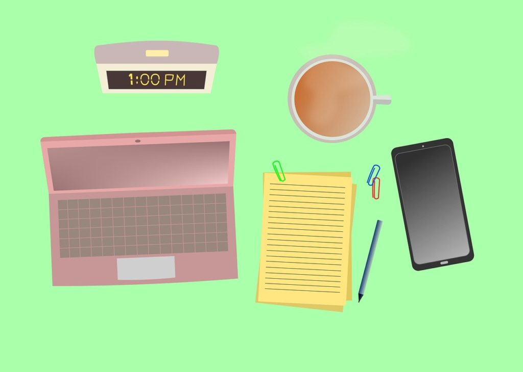 Equipment needed to work from home