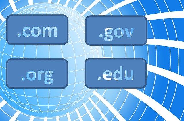Create a website - Domain name